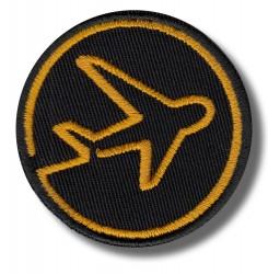 airplane-orange-embroidered-patch-antsiuvas