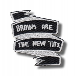 brains-are-new-tits-embroidered-patch-antsiuvas