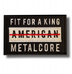 fit-for-a-king-embroidered-patch-antsiuvas