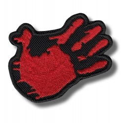 five-hand-red-embroidered-patch-antsiuvas