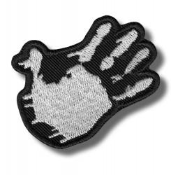 five-hand-white-embroidered-patch-antsiuvas