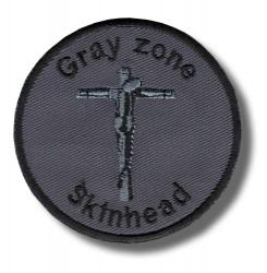 gray-zone-skinhead-embroidered-patch-antsiuvas