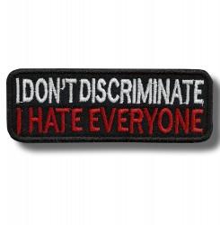 i-dont-discriminate-embroidered-patch-antsiuvas