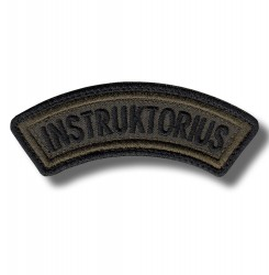instruktorius-embroidered-patch-antsiuvas