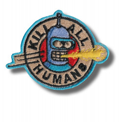 kill-humans-embroidered-patch-antsiuvas
