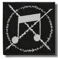 no-note-embroidered-patch-antsiuvas