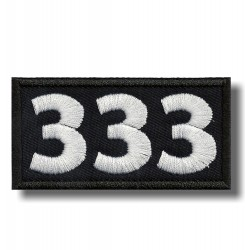 number-333-embroidered-patch-antsiuvas