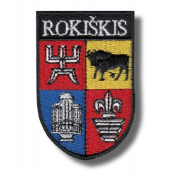 rokiskis-coa-embroidered-patch-antsiuvas