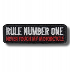rule-number-one-embroidered-patch-antsiuvas