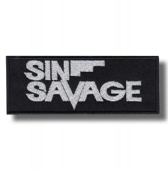 sin-savage-embroidered-patch-antsiuvas