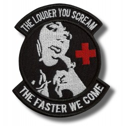 the-louder-you-cream-embroidered-patch-antsiuvas