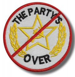 the-party-over-embroidered-patch-antsiuvas