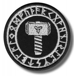 thors-hammer-embroidered-patch-antsiuvas