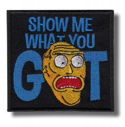 what-you-got-embroidered-patch-antsiuvas